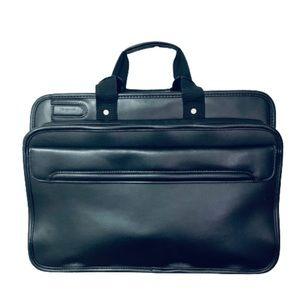 TARGUS | Unisex Laptop Briefcase Black Leather